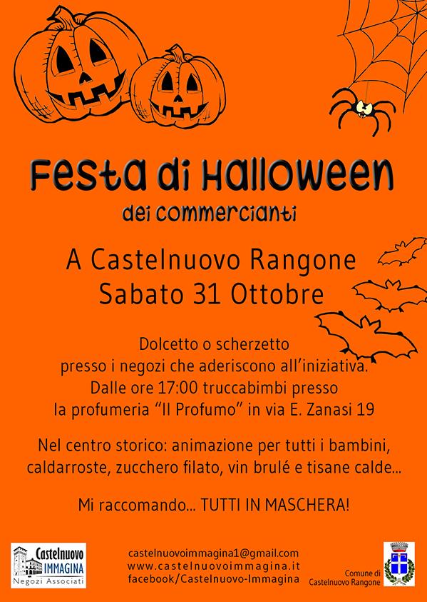 Conosciuto Festa di Halloween 2015 | Castelnuovo Immagina EF27