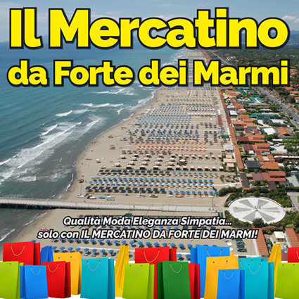 Il Mercatino da Forte dei Marmi – 15 Ottobre 2017