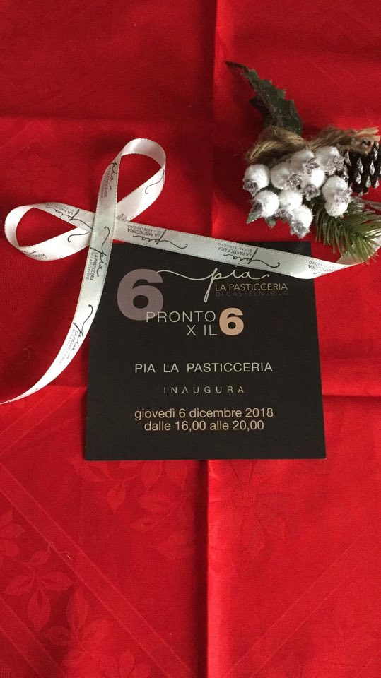 Inaugurazione PIA La Pasticceria