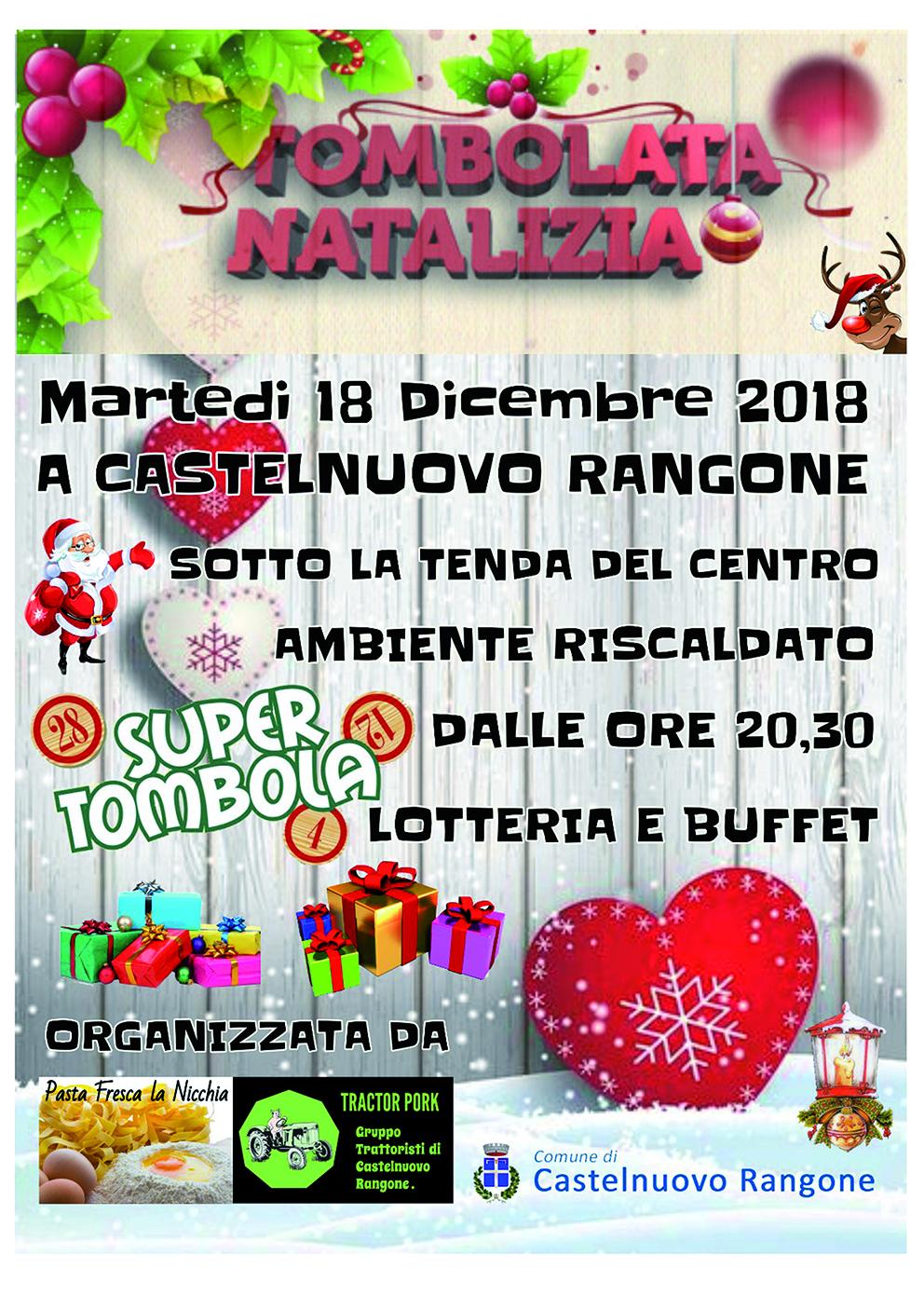 Tombolata Natalizia 2018