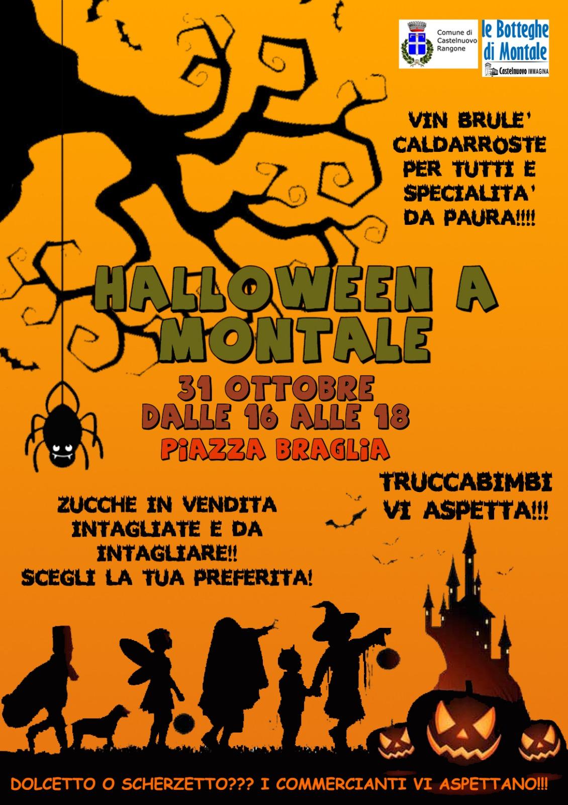 Halloween a Montale