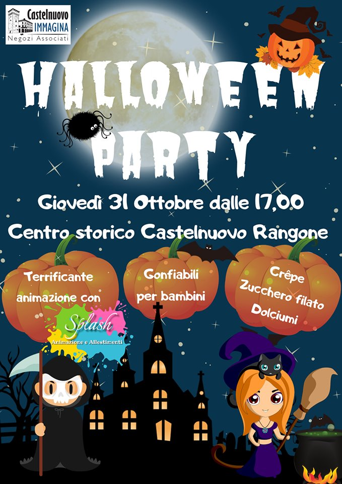 Halloween Party Castelnuovo 2019